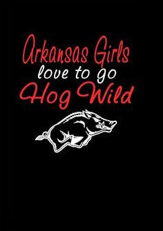 Arkansas razorback football girl fan tshirt by Niwid on Etsy, $15.00