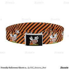 Friendly #Halloween Ghosts and Pals Belt by #Fall_Seasons_Best #Zazzle -