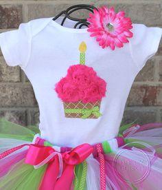 Cupcake outfit and tutu