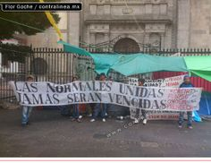 Oaxaca, México: Las Escuelas Normales se movilizan en contra de la reforma educativa de Peña Nieto