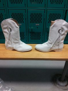 First pair of boots. Goin to have fun on my drill team next year