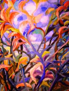 "Saatchi Art Artist Nada  Sucur Jovanovic; Painting, "" Flowers"" #art"