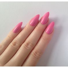 Matte pink stiletto nails, Nail designs, Nail art, Nails, Stiletto... ($15) ❤ liked on Polyvore featuring beauty products, nail care and nail treatments