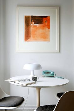 Saarinen table and chairs...want them for our wee house please...