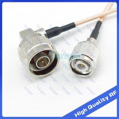 """Hot Selling TNC male plug to N male plug right angel with 8"""" 20cm 8inch RG316 RF Coaxial Pigtail Low Loss cable High Quality #Affiliate"""