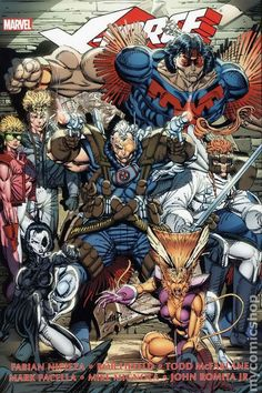 Rob Liefeld Art | FORCE… I miss this team roster