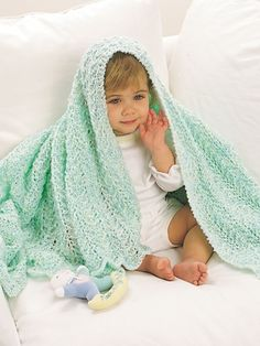 Baby blanket Free Tricot Dl