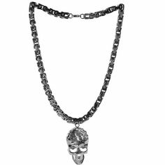 Buy Best Skull Steam Punk Rock Emo Fashion Jewelry Chain Link Necklaces  SKU-71103085