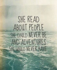 I love reading impossible things Books And Tea, I Love Books, Good Books, Books To Read, My Books, Book Memes, Book Quotes, Me Quotes, Quote Books
