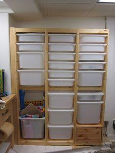 new workshop storage