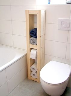 Trick 4: Designobjekt statt schnödem Toilettenpapierhalter