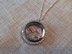 Breast Cancer Survivor Charm Locket Necklace by EmpyreanByDamaris, $30.00