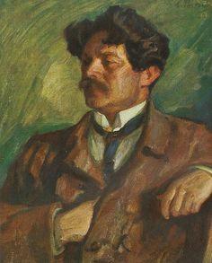 Shaul Tchernichovsky by L.Pasternak - Leonid Pasternak. TA museum of Art
