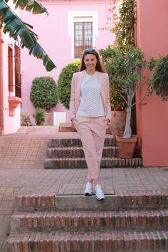 Spring fashion - Pink Suit