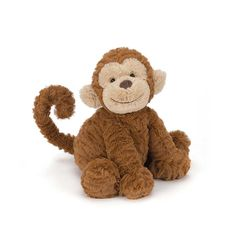Jellycat Fuddlewuddle Monkey Medium | JoJo Maman Bebe