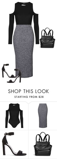 """Untitled #1745"" by quaybrooks on Polyvore featuring Topshop, Yves Saint Laurent and Givenchy"