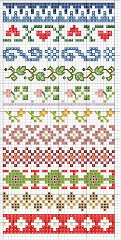 Point de croix *m@* Cross stitch                                                                                                                                                                                 More