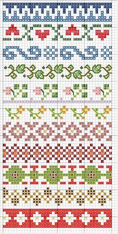 Point de croix *m@* Cross stitch                                                                                                                                                                                 More