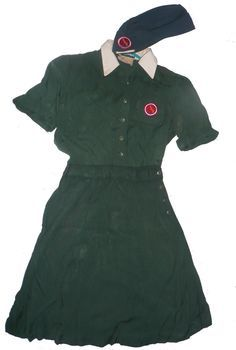 Vintage Senior Girl Scout Uniform Cap - Google Search