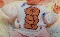 baby and toddler knitting pattern cute forever frends door ECBcrafts
