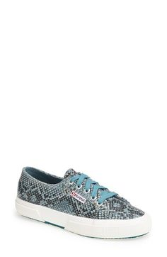 Superga Snake Print Sneaker (Women) - $75 on Vein - getvein.com