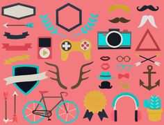 Hipster Paper Craft Set – Premium Image by rawpixel.com
