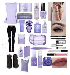 """""""★☆ Stop and smell the lilacs"""" by friends-forever-and-always ❤ liked on Polyvore featuring Diane Von Furstenberg, N.Y.L.A., Bobbi Brown Cosmetics, Christian Dior, OPI, Alterna, Crabtree & Evelyn, Victoria's Secret PINK, BCBGMAXAZRIA and Vince Camuto"""
