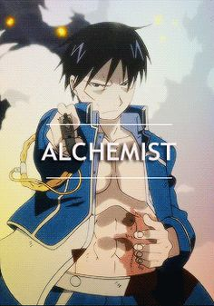 The flame alchemist actually, in the middle of killing Lust.