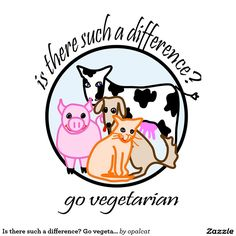 Image from http://rlv.zcache.com/is_there_such_a_difference_go_vegetarian_poster-ref325679c3f347c8b2f0f60c3a15f935_zeeu5_8byvr_1024.jpg.