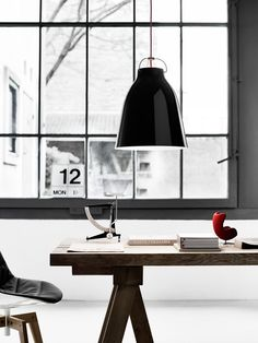 caravaggio pendant lamp (we're giving one away this week)