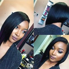 STYLIST FEATURE| Simple and chic #bobcut ✂️ styled by #charlottestylist @dreamchasin_hair  Classic #voiceofhair