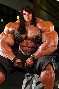 Female Muscle Morph by Jderril (me)