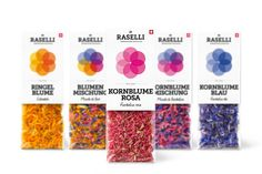 Raselli Organic Herbs & Blossoms on Packaging of the World - Creative Package Design Gallery