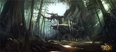 forest concept art - Google Search