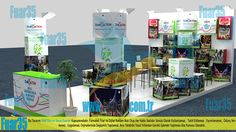 Fuar Stand Tasarım ve Üretim www.fuar35.com.tr Exhibition stand design and production in Turkey. Fair Booth design and production in Turkey.