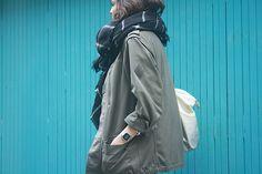 Look Parka Kaki ° Tous les looks sur le blog www.mocassinserretete.com