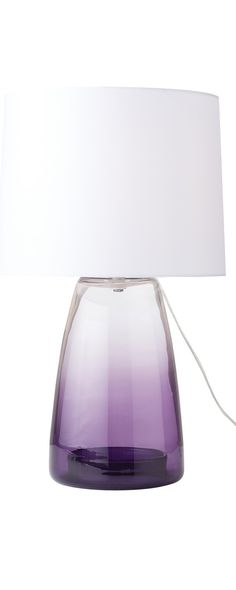 Modern purple lamp | interior design, luxury furniture, home decor. More news at  http://www.bocadolobo.com/en/news/