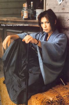 Gackt.  So pretty.  One of my favorite pictures of him.