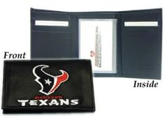 gay pride leather tri-fold wallets