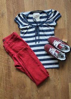 Красные штаны+(Love Label)+ за+100+грн.