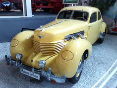 A 1937 Cord - The Car of My Deco Dreams!