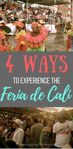 The feria de cali is a giant festival that takes place in Cali, Colombia every December. If you're looking for what to do in Cali, don't miss out on this! You'll be able to experience Salsa dancing in Cali, the food in Cali, and the culture. (Photos by Ben Bowes on Flickr)