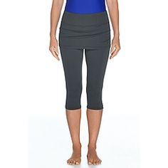 Skirted Swim Capris at Coolibar