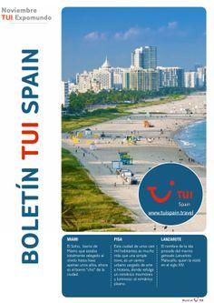 Ya está listo nuestro boletín sobre #Miami, #Pisa y #Lanzarote ¡Y muchas ofertas!