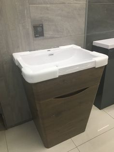 Dark brown angled vanity Dark Brown, Vanity, Bathroom, Home, Dressing Tables, Washroom, Powder Room, Vanity Set, Full Bath