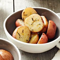 Crock-Roasted New Potatoes