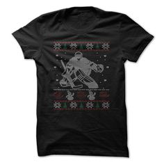 Hockey Goalie Christmas T-Shirts, Hoodies. CHECK PRICE ==► https://www.sunfrog.com/Holidays/Hockey-Goalie-Christmas.html?id=41382