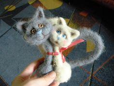 Мастер класс по созданию парных кошек - Ярмарка Мастеров - ручная работа, handmade