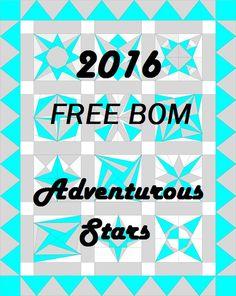 Adventurous Quilter: 2016 BOM