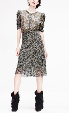 Isabel Marant for H&M Grey And Multicolor Dress